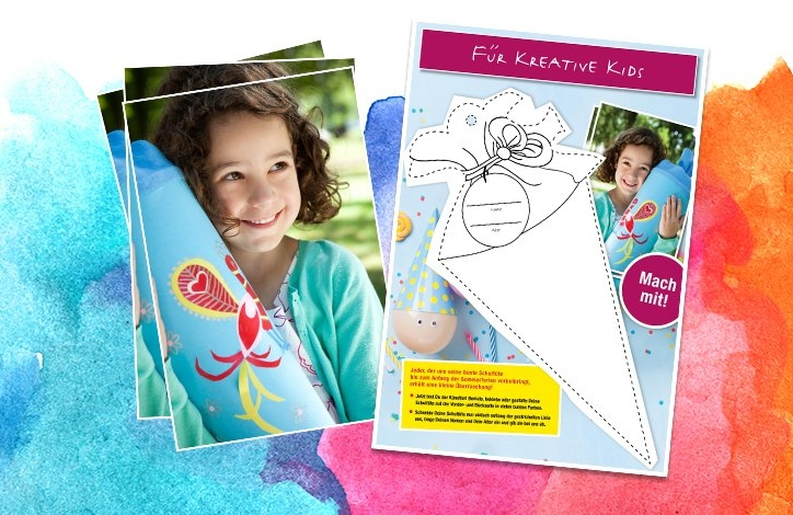 Schultüte gestalten & Überraschung für Kinder zum Schulstart