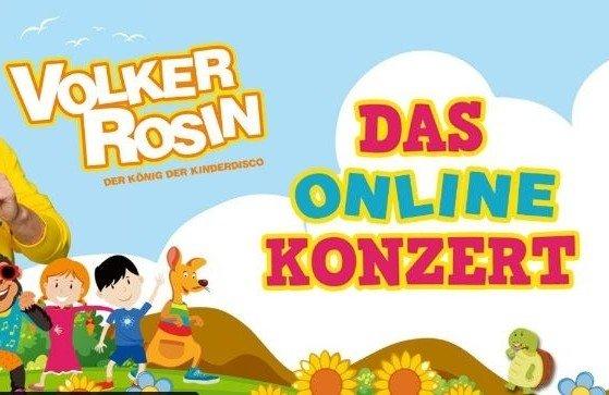Online-Kinderdisco-Party mit Volker Rosin