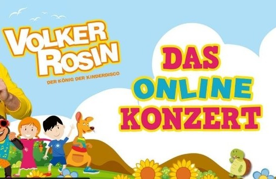 Online-Kinderdisco-Party mit Volker Rosin
