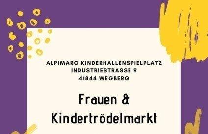 Frauen & Kindertrödelmarkt im Hallenspielplatz Al Pi Ma Ro