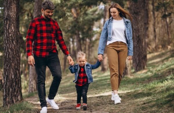 FamilienZeit im Wald