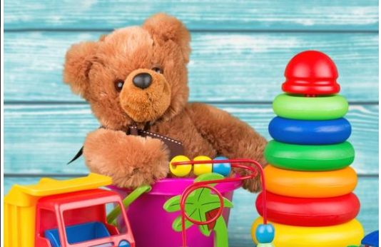 Vorsortierter Kindertrödelmarkt