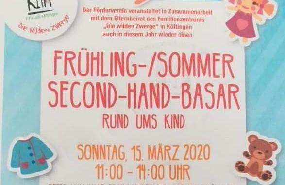 Frühling-/Sommer Second-Hand-Basar