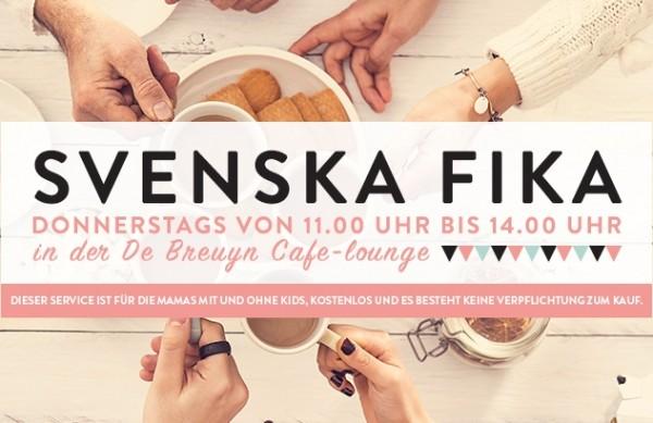 SVENSKA FIKA Mamatreff: gemütliche Kaffeestunde bei de Breuyn - mit bookidz