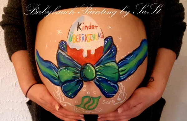 Bellypainting, Babybauchbemalung, Babyshower