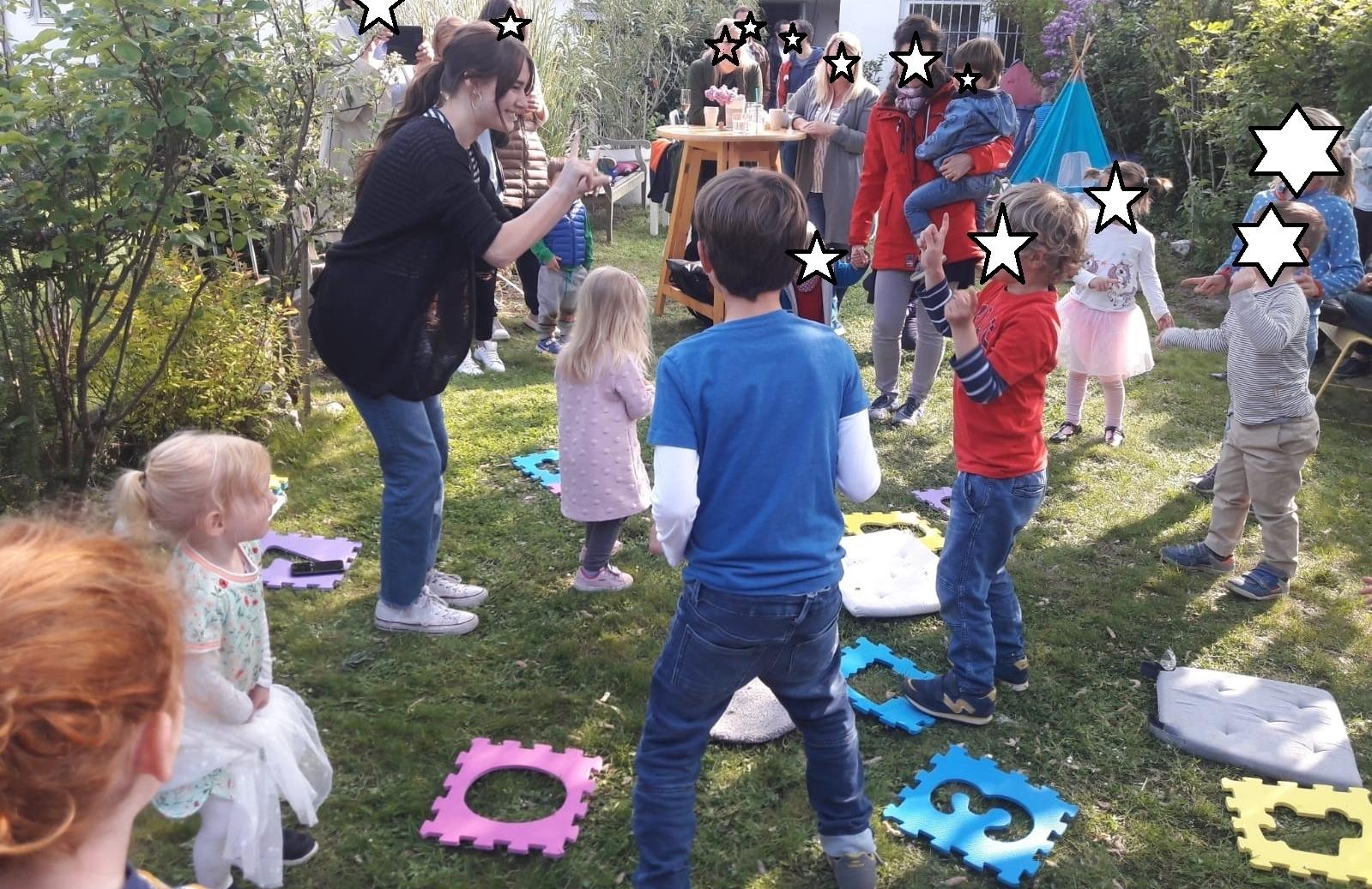 Kinderdisco für die Geburtstagsfeier