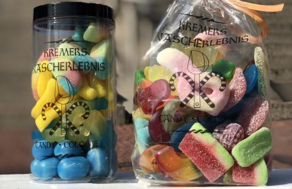 Individuelle Süßigkeiten-Tütchen