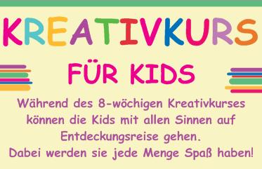 Kreativkurs für Kids