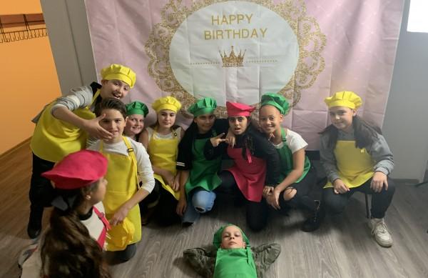"""Kindergeburtstag Magischen Kinderbackstube """"Magisches Zwergenp."""" Oberhausen"""