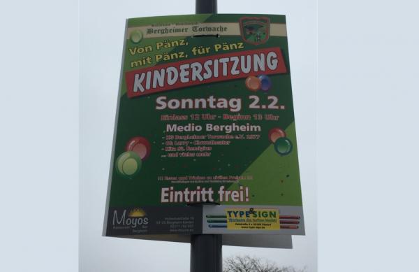 Kindersitzung Bergheim