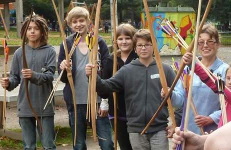 Tageskurs: Bogenbau und Svhießen ab 10 Jahren