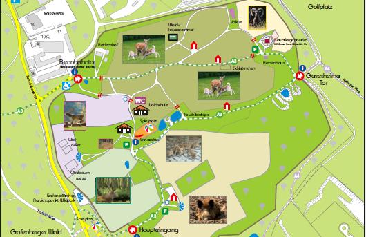 Wildpark Grafenberg in Düsseldorf
