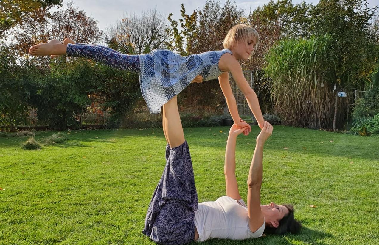 Eltern-Kind-Yoga Workshop