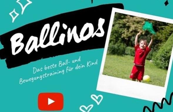 Ballinos@home Kids | 2-8 Jahre | Sportstunde für zu Hause