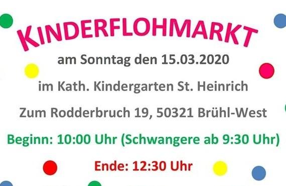 Kinderflohmarkt KiTa St. Heinrich Brühl West