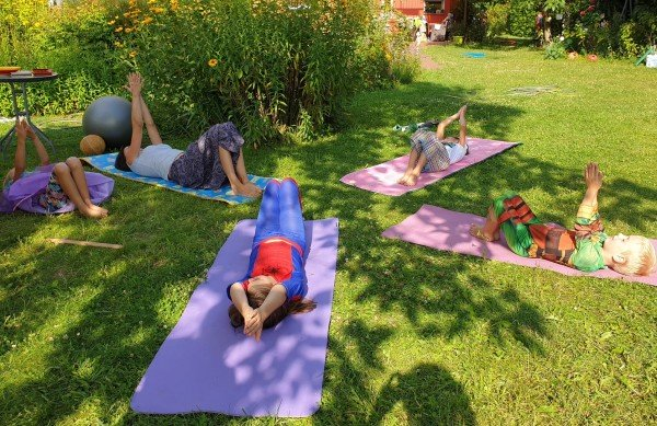 Kinderyoga in Berlin Kaulsdorf