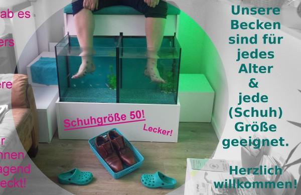 Köln Neumarkt: 2:1 Kostenlose Fisch Pediküre am Geburtstag