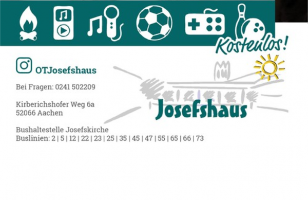 Jugendtreff im Josefshaus