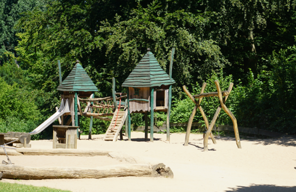 Wildpark Grafenberg in Düsseldorf