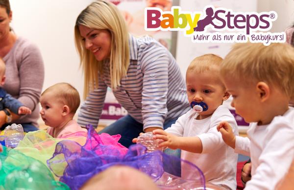 BabySteps - Online Babykurs (0-6 & 6-12 Monate)