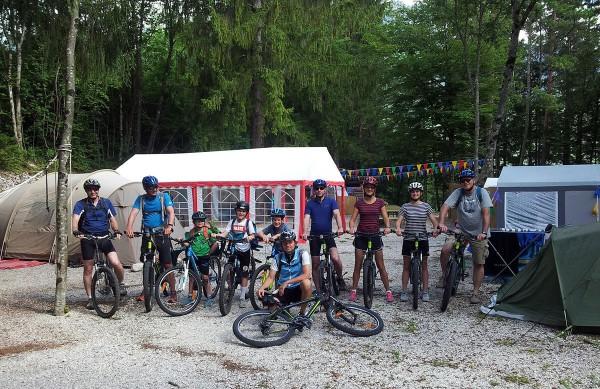 Familien Flusscamp Slowenien