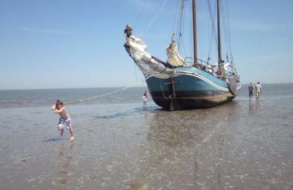Familiensegeln im IJsselmeer