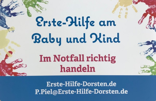 Erste-Hilfe am Baby und Kind - bei dir zu Hause -