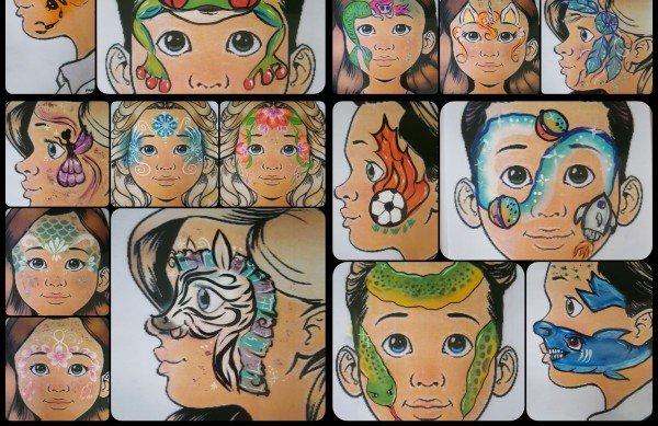 Kinderschminken (facepainting)