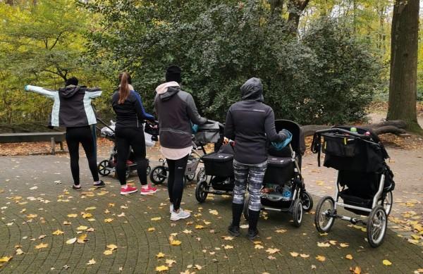MamaFit Outdoor im Stadtpark