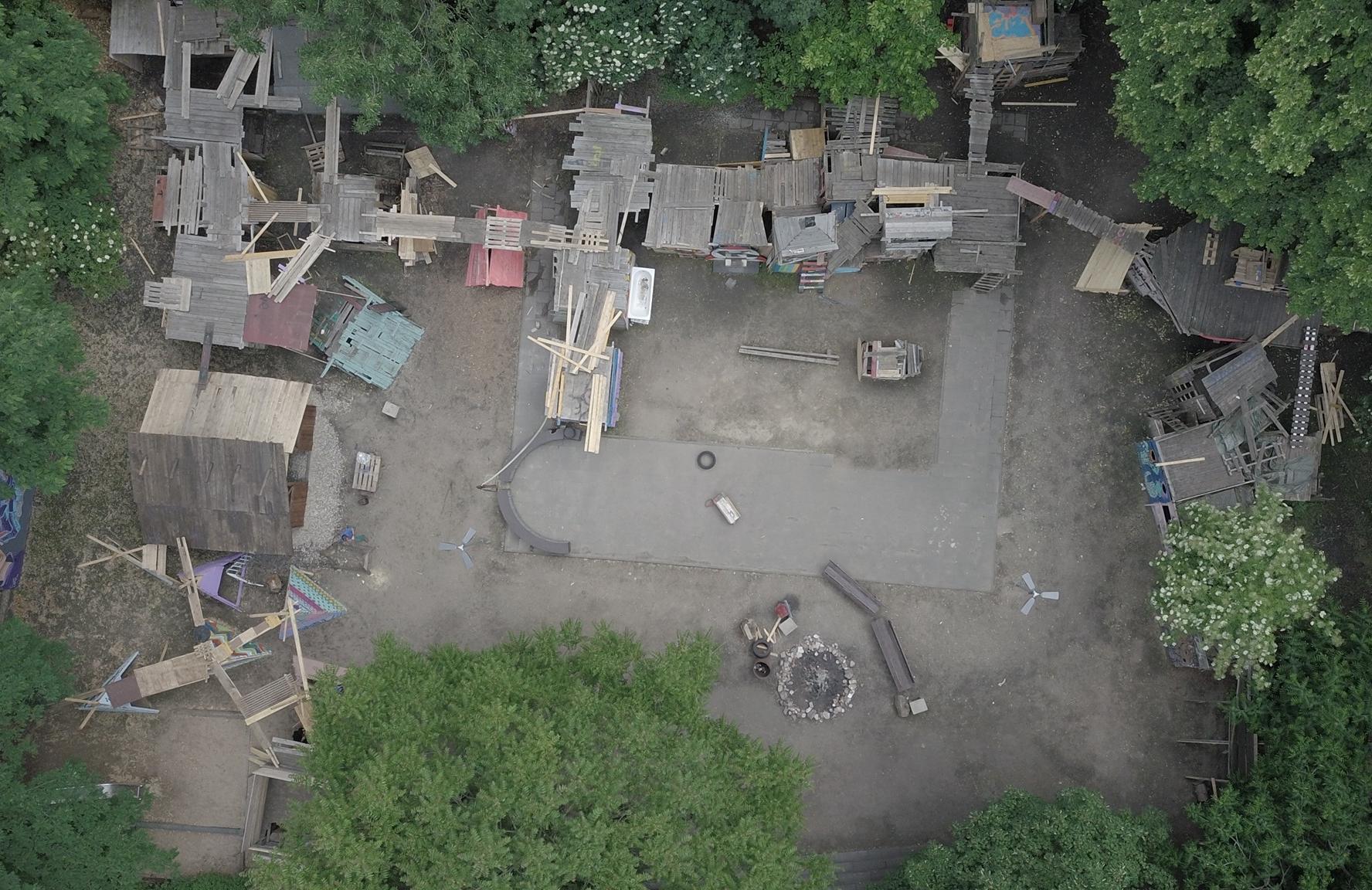 Bauspielplatz in der Südstadt