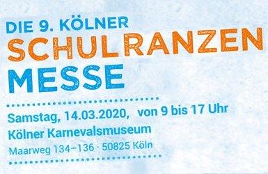 Die 9. Kölner Schulranzenmesse