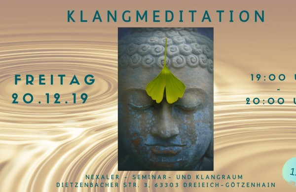 Klangmeditationsabend in Götzenhain