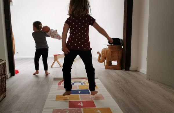 Feierabend Spielkreis bei der Familienbande (mit Geschwistern)