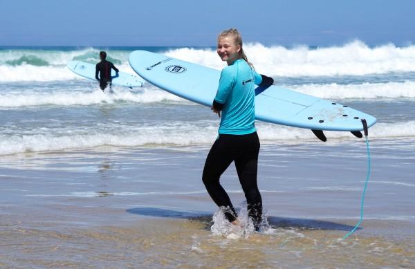 Surfen & Action am Strand