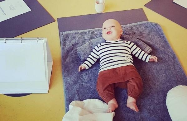 zertifizierte Babymassage nach der DGBM (Deutsche Ges. für Babymassage)